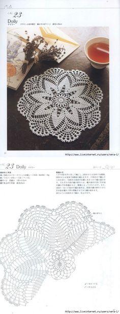 Kira scheme crochet: Scheme crochet no. 2037