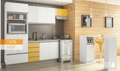 Conjunto cozinha modulada Florença MP007