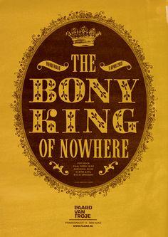 #thebonykingofnowhere artwork by Spacebar #paardvantroje #singersongwriter