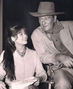Claudia Cardinale & John Wayne