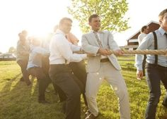 Top 5 Wedding Trends 2013: Have some fun! Wedding lawn games are a huge trend