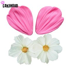 2017High Quality 3D Peony Flower Petals Fondant Cake Molds Fondant Decoration Soap Chocolate Mould for The Kitchen DIY Cake Tool #KitchenDecor