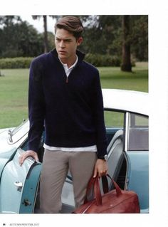 Bally bag from Helvetic collection, love car colour too