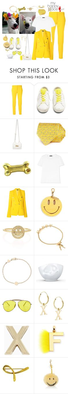 """This is my happy face"" by juliabachmann ❤ liked on Polyvore featuring STELLA McCARTNEY, Golden Goose, Miu Miu, Salvatore Ferragamo, The Row, Edie Parker, Sydney Evan, Chloé, Alison Lou and Acne Studios"