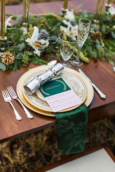 Holiday Wedding Ideas - On SMP:  http://www.stylemepretty.com/virginia-weddings/2013/12/18/military-homecoming-holiday-photo-shoot/  Annamarie Akins Photography