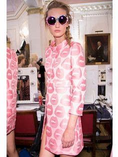 pink - spring fashion trends 2014, women's fashion trends SS14, fashion week, big trends