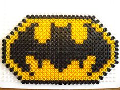 Gabulle in wonderland: DIY du mercredi : emblèmes de super héros en perles hama.