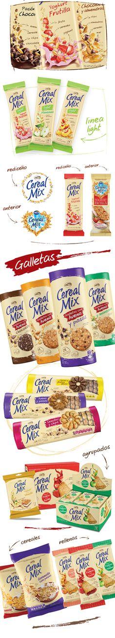 Cereal Mix – Rediseño | Sure