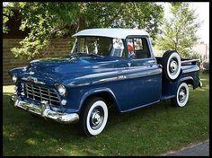 1956 Chevorlet STEP Side #ClassicCar #CTins #Chevy