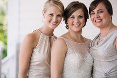 Elegant Key West bridesmaid and bridal gowns Neutral Bridesmaid Dresses, Key West Wedding, Nautical Wedding, Bridal Gowns, Real Weddings, Elegant, Lace, Women, Style