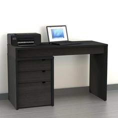 Computer Desk With Storage Drawers For The Home Pinterest And Desks