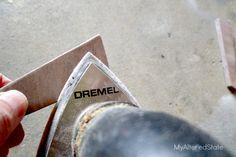 dremel multi-max sanding sand wood