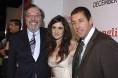 James L. Brooks, Adam Sandler, and Paz Vega at an event for Spanglish (2004)
