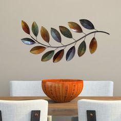 Stratton Home Decor multicolor Metallic Branch Wall Decor