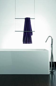 Hangend handdoek rek