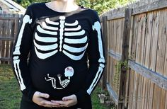pregnant skeleton costume...Im sooo doing this! misc