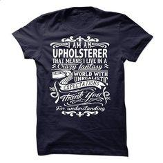 i am an UPHOLSTERER. Thank you! - teeshirt dress #boho tee #tshirt stamp