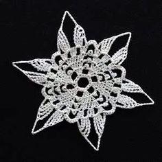Crochet Snowflake #13