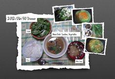 For Dinner on 30/Jun/2012