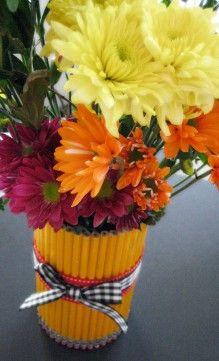 Pencil vase- so adorable!