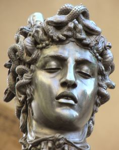 Detail from Perseus with the Head of Medusa by Benvenuto Cellini, 1545
