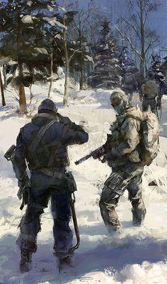 Fanart for modern warfare 2 by luulala on DeviantArt