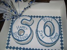 New birthday cake for men ideas Number Birthday Cakes, 60th Birthday Cakes, Birthday Crafts, Men Birthday, Number Cakes, Birthday Parties, 60th Birthday Ideas For Dad, Birthday Cakes For Teens, Sheet Cake Designs