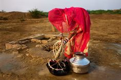 Each day, young women and children spend 140 million hours collecting water.