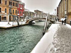 Cold winter in Venice de Thierry Bouriat