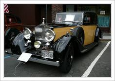 Rolls-Royce Wraith 1935.