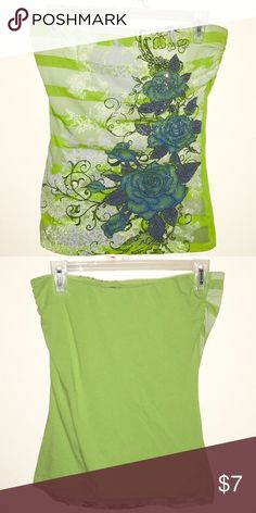 Wet Seal strapless top Made from 95% cotton, 5% spandex. Wet Seal Tops Blouses