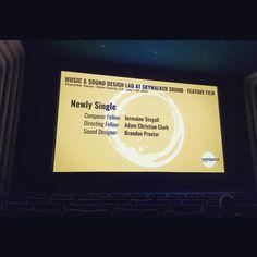 assignment #4 w @adamchristianclark and @branfreeze @sundanceinstitute #sundancelabs #sundance #skywalker @skywalkersound #skywalkersound #skywalkerranch #jermainestegall #cinema (at Stag Theatre @ Skywalker Ranch)