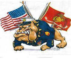 Marine Corps Tattoos, Marine Tattoo, Usmc Tattoos, Marine Mom, Us Marine Corps, Usmc Wallpaper, Nike Wallpaper, Bulldog Tattoo, Bulldog Drawing
