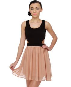 Modern Fairytale Color Block Dress