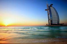 Burj Al Arab Sunset by ~hannajohn on deviantART