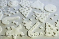 Better Than Salt Dough {Homemade Clay for Ornaments or Handprints} - Tips from a Typical Mom
