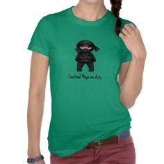 Little Ninja Women Jersey T-shirt $31.45 #cute #ninja