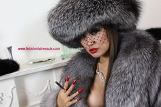 Mistress in Silver Fox Furs