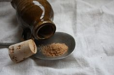 A Basic Medieval Spice Kit | Powder Douce (Sweet Powder) spice mix: 1 part sugar 1/2 part ginger 1/2 part cinnamon 1/4 part nutmeg