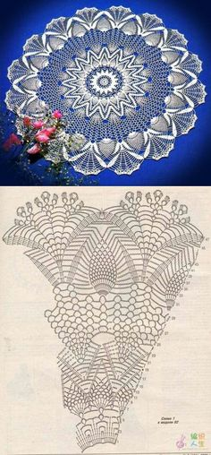 Ideas Crochet Lace Tape Vintage For 2019 Crochet Mandala, Crochet Stitches Patterns, Crochet Art, Thread Crochet, Vintage Crochet, Crochet Designs, Crochet Crafts, Crochet Flowers, Crochet Projects