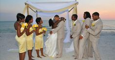 Florida Beach Weddings | All Inclusive Florida Destination Weddings & Reception Pkgs | Simple Weddings