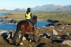SHAMROCK TRAIL - County Kerry (2 Hours). Great Horse riding in Ireland. www.stable-mates.com