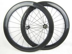 racing bicycle 60mm tubular wheels full carbon fiber bike wheelset cycling wheel in stock
