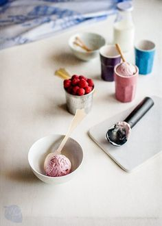Cómo hacer helado de yogur cremoso. Helado de yogur y frutas rojas | Recetas con fotos paso a paso El invitado de invierno