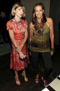 Donna Karan New York - Front Row - Spring 2012 Mercedes-Benz Fashion Week