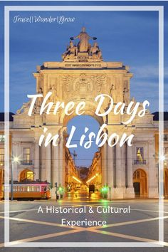 This short guide will walk you through everything you should do if you only have three days in in Lisbon, one of my favorite European cities. #lisbon #lisbontravelguide #lisbonitinerary