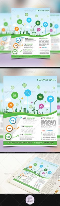 Multipurpose Business Flyer Template Psd  Buy And Download Http
