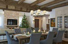 Отдых в стиле Шале  Дизайн интерьера загородного дома в Чехии. Архитектор Рихтер Ирина http://www.insidestudio.ru/#!chalet/c1tg9