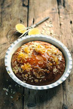 Gâteau très citron et amandes !