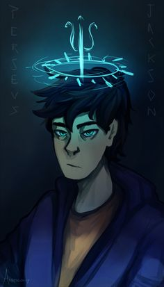 """""""Percy is the most powerful demigod I've ever met"""" thinking about dark percy"""